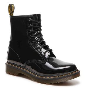 Dr. Martens Patent Leather 1460 8-Eye Combat Boot
